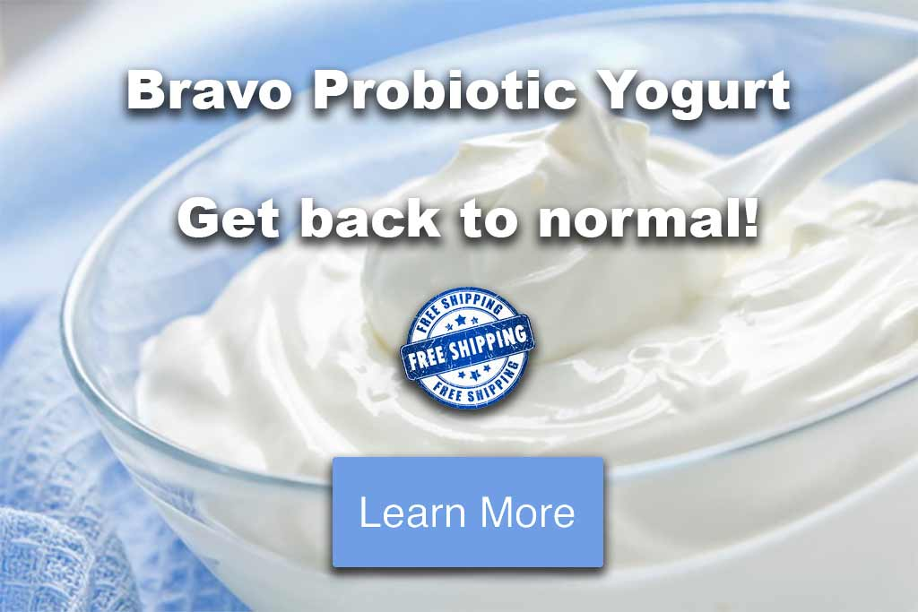 Bravo Probiotic Yogurt - Free Shipping